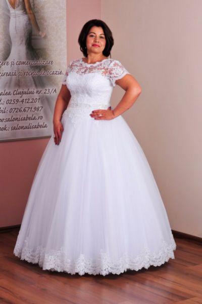 Rochie de mireasa Rosa alb
