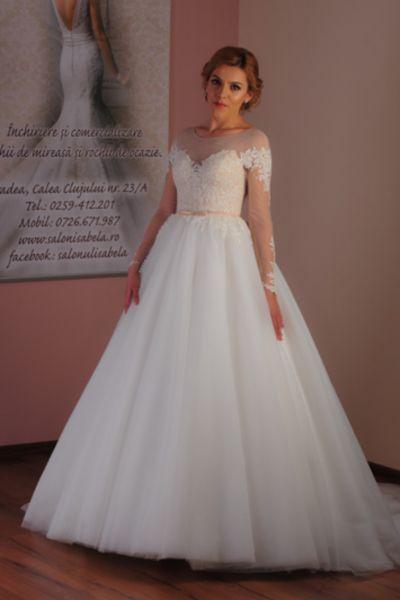 Rochie de mireasa Amira ivory