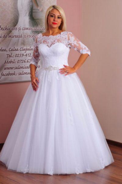 Rochie de mireasa Ilaria alb